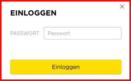 Passwort Betrug