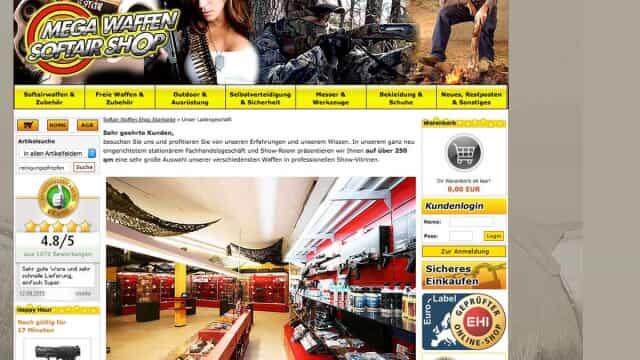 mega waffen softair shop